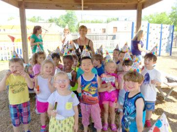 Summer Camp kids group photo