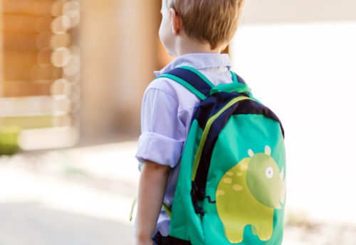 First day of preschool can bring separation anxiety